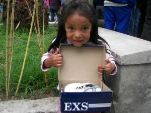 Shoes for Orphans Happy Girl Photo