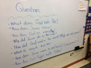 These are the questions my kiddos were asking today!